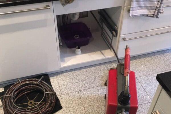 Küche verstopft